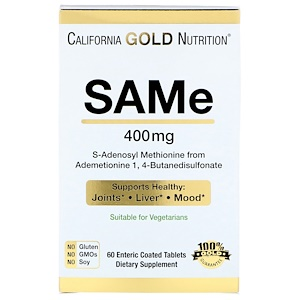 S-аденозил-L-метионин от California Gold Nutrition