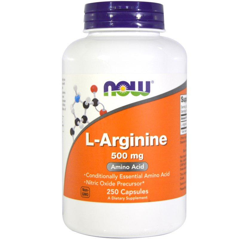 L-аргинин-Now-Foods