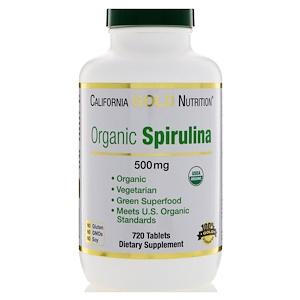 California Gold Nutrition, Спирулина