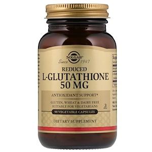 Solgar, Сокращенный L-глутатион