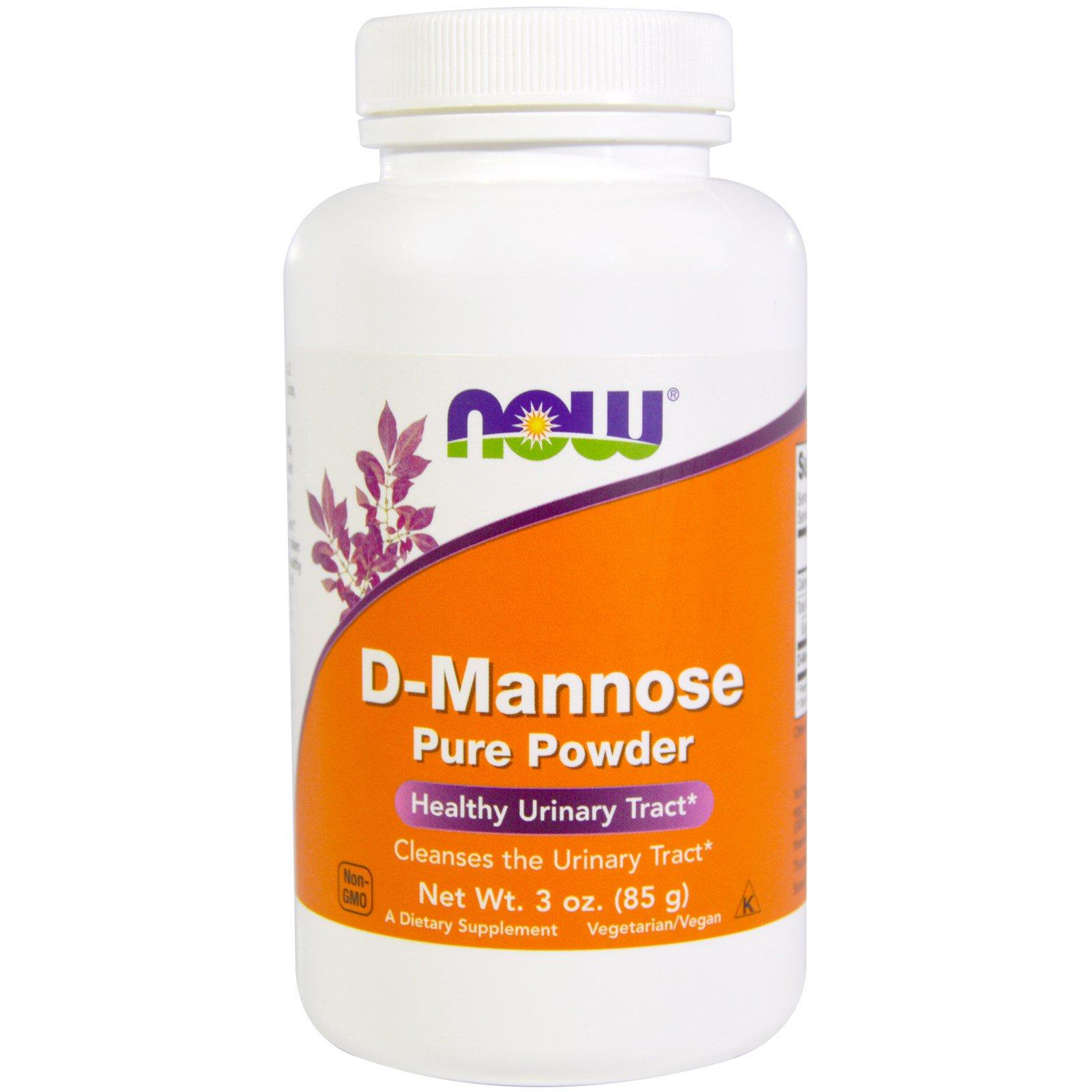 Порошок D-маннозы, 85 г (3 oz) от Now Foods