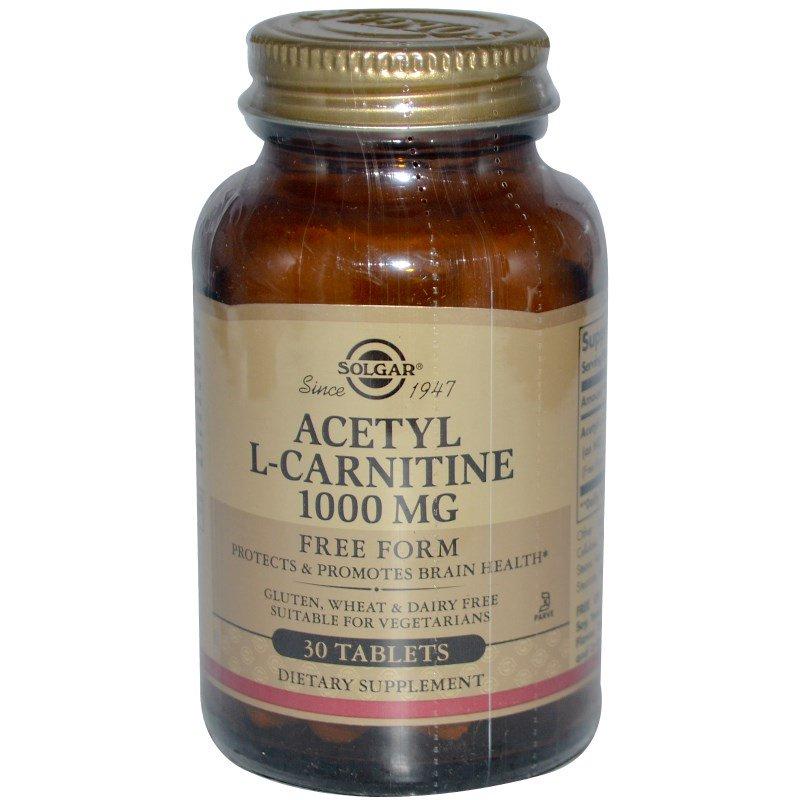 acetyl-l-carnitine-Solgar