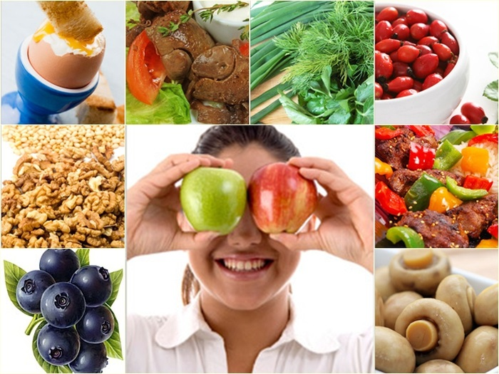 какое питание полезно для глаз