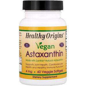 Healthy Origins, Vegan Astaxanthin