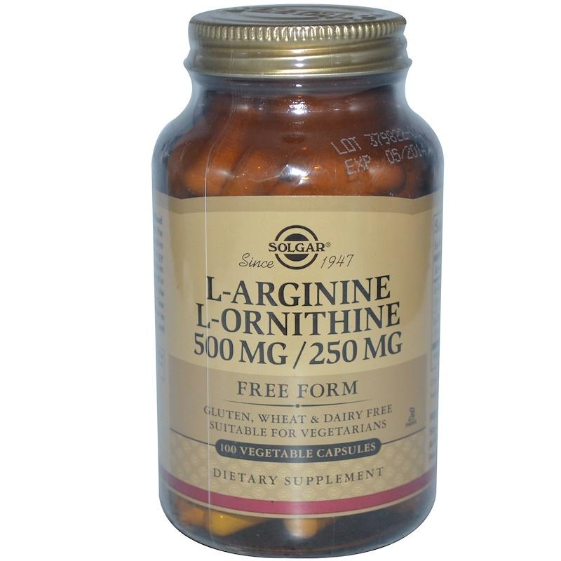 l-arginine-l-ornithine-Solgar