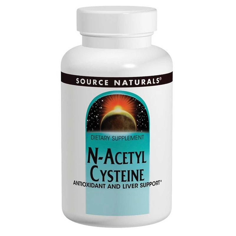 N-ацетил цистеин, Source Naturals