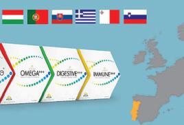 Ламинин в  Хорватии, Чехии, Венгрии, Португалии, Словакии, Греции, Словении и на Мальте