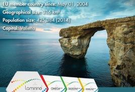 Laminine выбирают на Мальте
